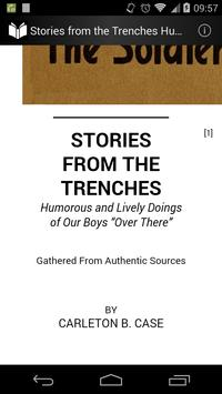 Stories from the Trenches apk screenshot