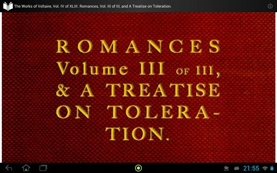 The Works of Voltaire, Vol. IV apk screenshot