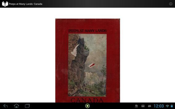 Peeps at Many Lands: Canada apk screenshot