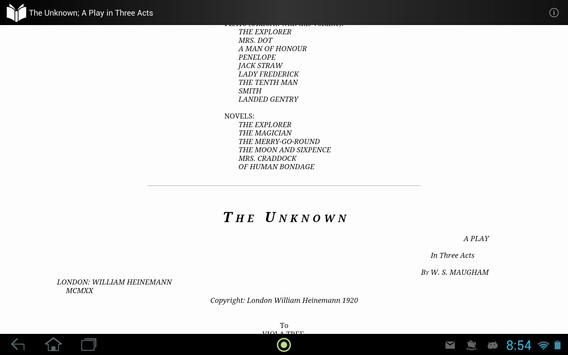 The Unknown apk screenshot
