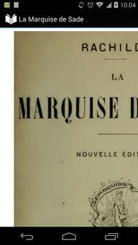 La Marquise de Sade poster