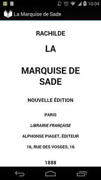 La Marquise de Sade apk screenshot