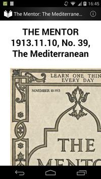 The Mentor: The Mediterranean poster