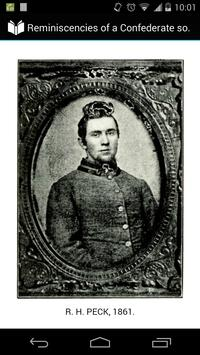 A Confederate soldier poster