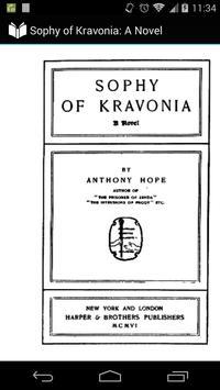Sophy of Kravonia poster