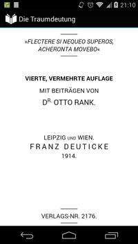 Die Traumdeutung by Freud apk screenshot
