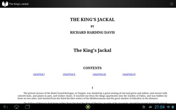 The King's Jackal apk screenshot