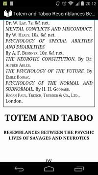 Totem and Taboo by Freud apk screenshot