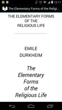 Elementary Religious Forms poster