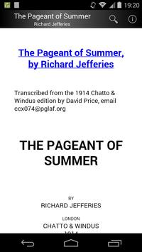 The Pageant of Summer poster
