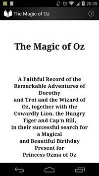 The Magic of Oz poster