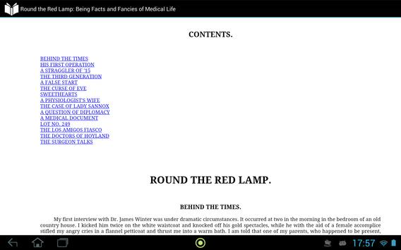 Round the Red Lamp apk screenshot