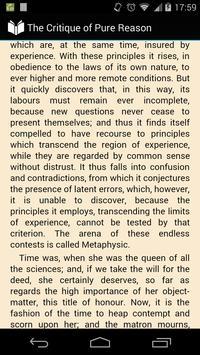 The Critique of Pure Reason apk screenshot
