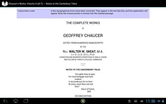 Chaucer's Works, Volume 5 apk screenshot