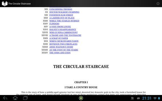 The Circular Staircase apk screenshot