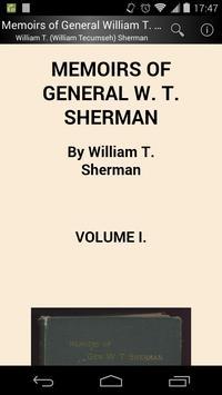 General William T. Sherman poster