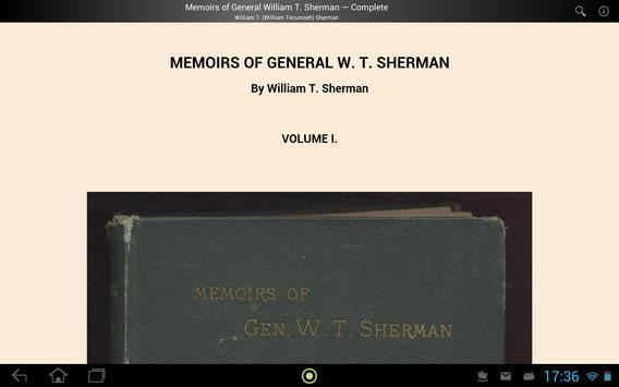 General William T. Sherman apk screenshot