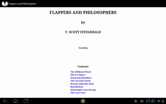 Flappers and Philosophers apk screenshot