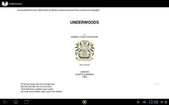 Underwoods apk screenshot