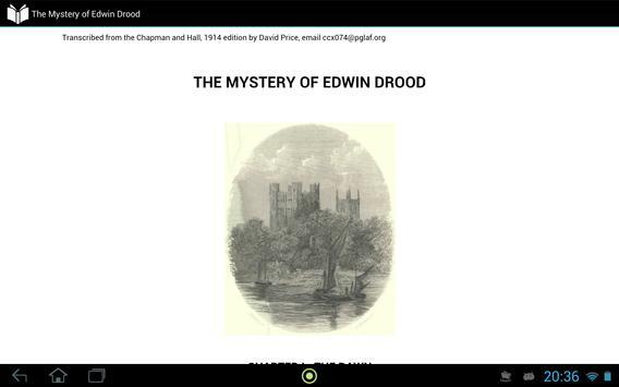 The Mystery of Edwin Drood apk screenshot