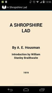 A Shropshire Lad poster