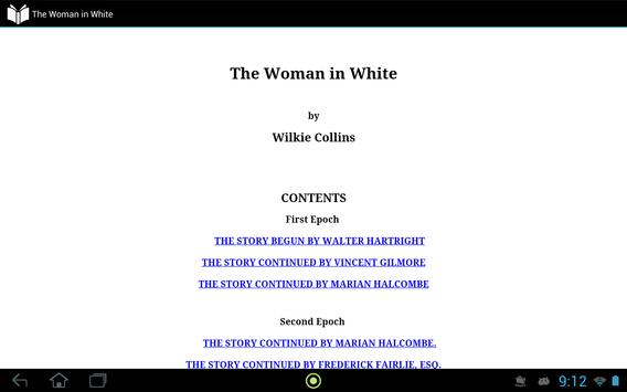 The Woman in White apk screenshot
