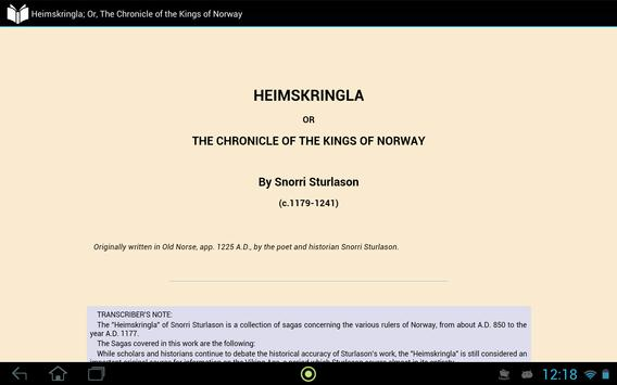 Heimskringla: Kings of Norway apk screenshot
