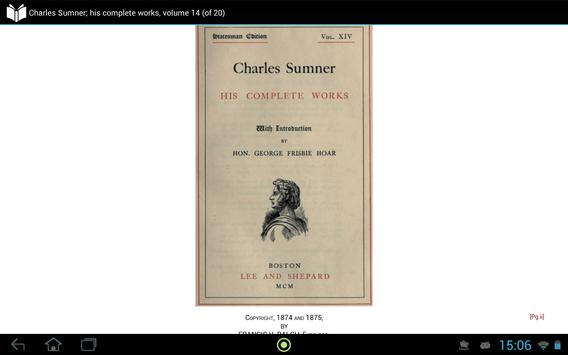 Charles Sumner volume 14 apk screenshot