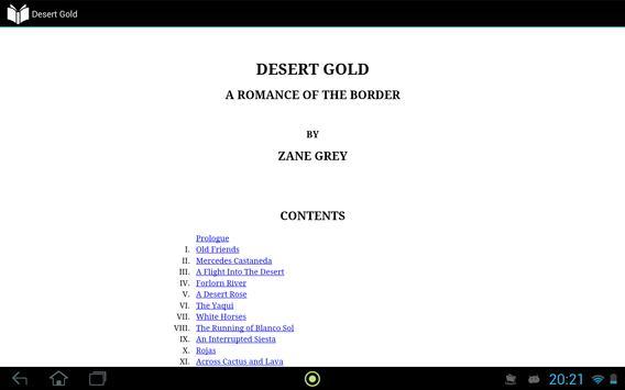 Desert Gold apk screenshot