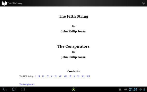 The Fifth String apk screenshot
