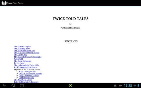 Twice-Told Tales apk screenshot