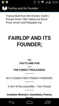 Fairlop and its Founder poster
