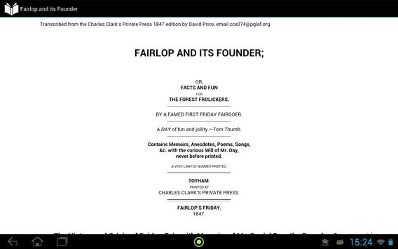 Fairlop and its Founder apk screenshot