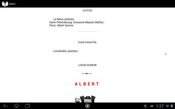 Albert apk screenshot