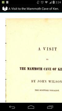 The Mammoth Cave of Kentucky poster