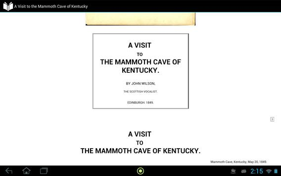 The Mammoth Cave of Kentucky apk screenshot