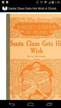 Santa Claus Gets His Wish poster