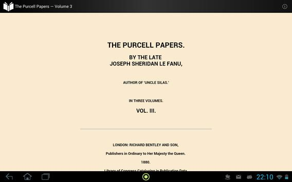 The Purcell Papers — Volume 3 apk screenshot