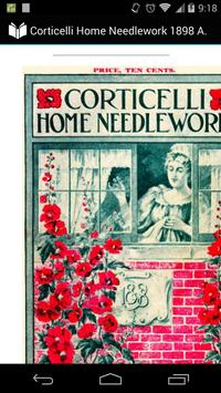 Corticelli Home Needlework poster