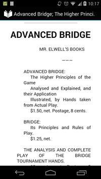 Advanced Bridge: Game Analysis poster