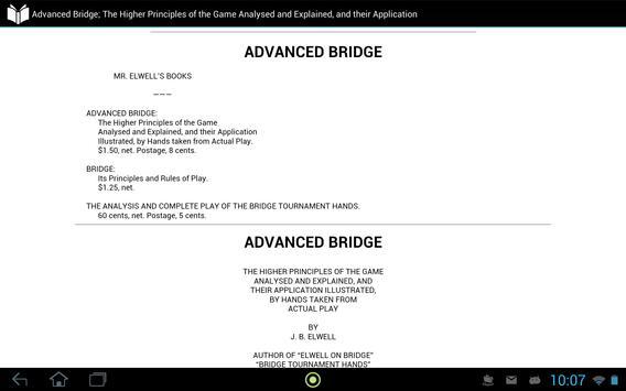 Advanced Bridge: Game Analysis apk screenshot