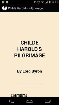 Childe Harold's Pilgrimage poster