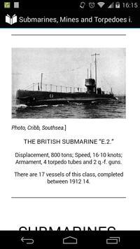 Submarine, Mine and Torpedo poster