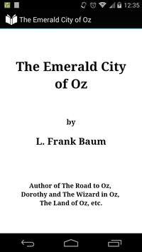 The Emerald City of Oz poster