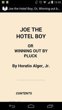 Joe the Hotel Boy poster