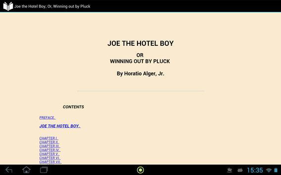 Joe the Hotel Boy apk screenshot