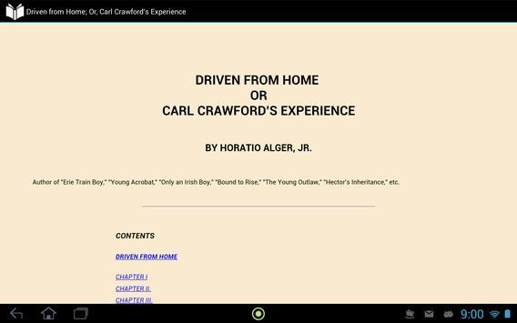 Driven from Home apk screenshot