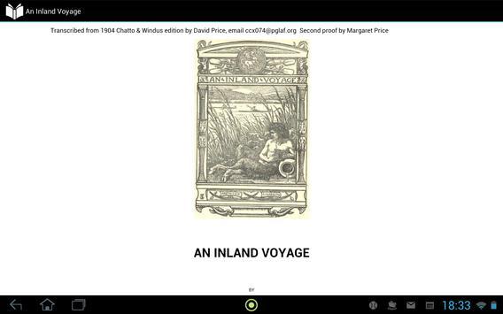 An Inland Voyage apk screenshot