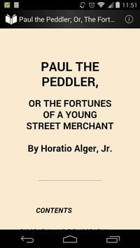 Paul the Peddler poster