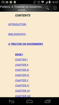 A Treatise on Government apk screenshot